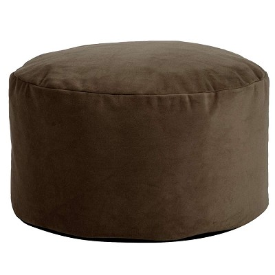 Foot Pouf Bella Chocolate -Howard Elliott