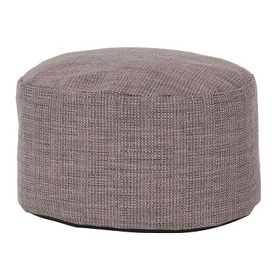Foot Pouf Coco Slate -Howard Elliott