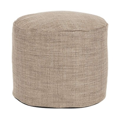 Tall Pouf Coco Stone -Howard Elliott
