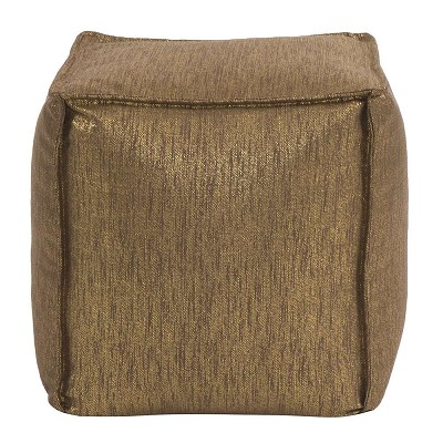 Square Pouf Glam Chocolate -Howard Elliott