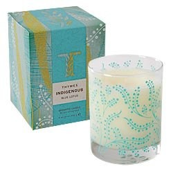Thymes Indigenous candle-Blue Lotus