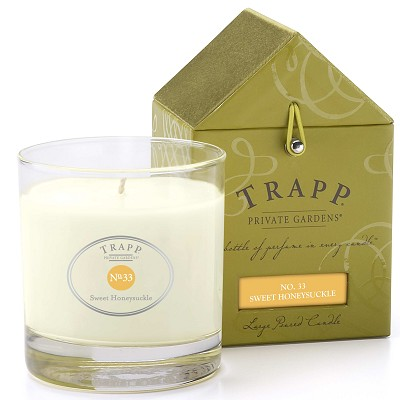 Trapp Candles No 33-Sweet Honeysuckle- 7 Oz Poured Candle