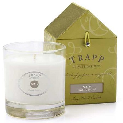 Trapp Candles No 19-Exotic Musk- 7 Oz Poured Candle