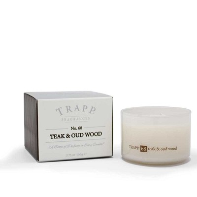 Trapp Candles No 68-Teak & Oud Wood-3.75 Oz Poured Candle