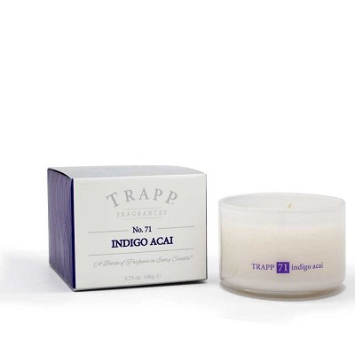 Trapp Candles No 71-Indigo Acai Candle-3.75 Oz Poured Candle