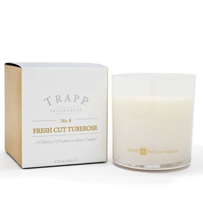 Trapp Candles No 8-Fresh Cut Tuberose-8.75 Oz Poured Candle
