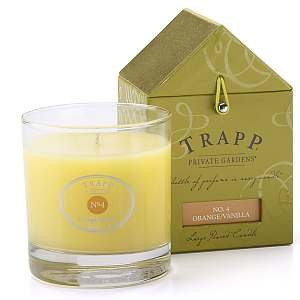 Trapp Candles No 4-Orange Vanilla- 7 Oz Poured Candle