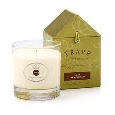 Trapp Candles Teak & Oud Wood No. 68