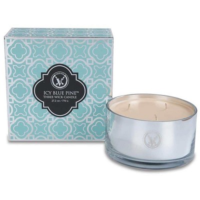 Votivo Icy Blue Pine 3 Wick Candle