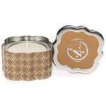 Votivo Candles -Dulce Caramello Quatrefoil Tin