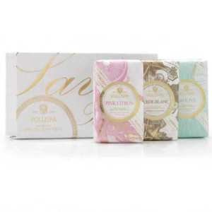 Voluspa Blanc Shea Butter Soap Trio