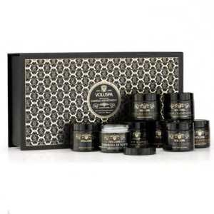Voluspa Noir Deluxe Votive Gift Set