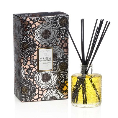 Voluspa Yashioka Gardenia Mini Reed Diffuser