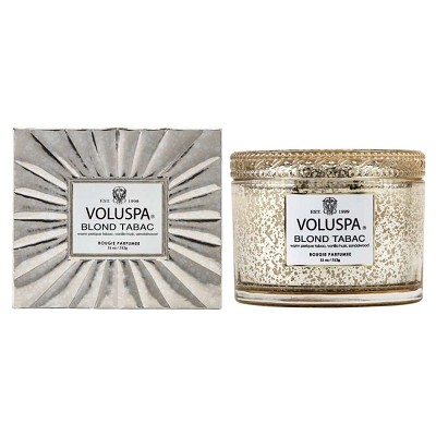 Voluspa Blond Tabac Corta Maison Boxed Candle