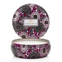 Voluspa Japanese Plum Bloom 3 Wick Candle Tin