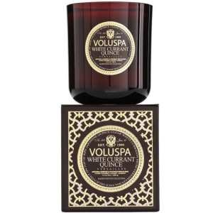 Voluspa White Currant Quince Versailles Candle