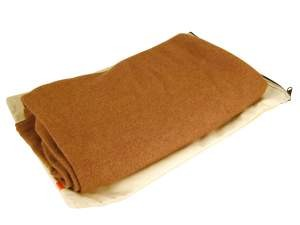 Cashmere Travel Blanket-Camel