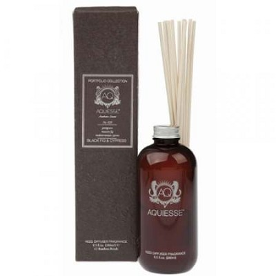Aquiesse Black Fig & Cypress Diffuser Refill and Reeds
