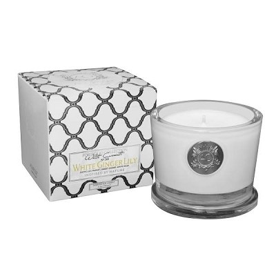 Aquiesse White Ginger Lily 45 Hr Soy Candle