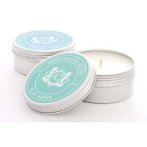 Aquiesse Blue Agave Soy 20 Hr Travel Tin Candle