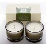 Aquiesse Alpine Meadow Set of Two Votive Candles