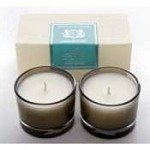 Aquiesse Blue Agave Set of Two Votive Candles