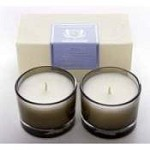 Aquiesse Water Hyacinth Set of Two Votive Candles