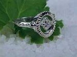 Divine Eye Ring-sterling silver by Ashley Morgan