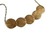 Catherine Weitzman Gold Vermeil Five-Petal necklace