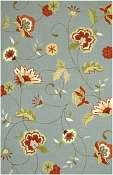 Jaipur Rugs Jardin in Ice Blue