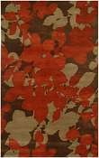 Jaipur Rugs Orchid in Cocoa Brown-Red Ochre