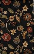 Jaipur Rugs Garden Party in Ebony