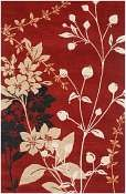 Jaipur Rugs Wildflower in Red