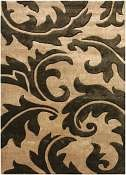 Jaipur Rugs Aloha in Tan-Deep Charcoal