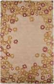Jaipur Rugs Ring Toss in Dark Ivory