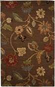 Jaipur Rugs Garden Party in Cocoa Brown