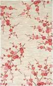 Jaipur Rugs Cherry Blossom in Colorado Clay