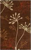 Jaipur Rugs Wonderland in Dark Brown