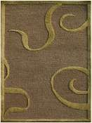 Jaipur Rugs Curled Up in GRAY BROWN