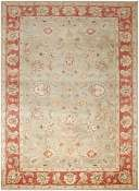 Jaipur Rugs Anthea in Kelp-Brick Red