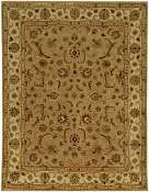 Jaipur Rugs Normandy in Dark Sand-Cloud White