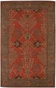 Jaipur Rugs Chambery in Orange Rust-Gold Brown