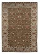 Jaipur Rugs Rennes in Walnut-Ice Blue