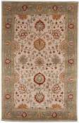 Jaipur Rugs Laval in Dark Ivory-Grape Green