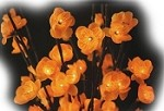 Amber Plum Tree Flower Lights 96 Bulbs -Light Garden