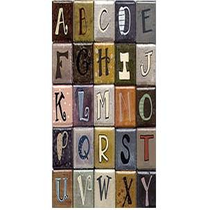 Each an Original 1x2 Letter Magnet