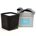 Niven Morgan Square Two Wick Candle Blue