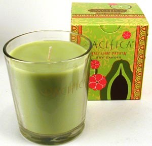 Pacifica Bali Lime Papaya 10.5oz Candle