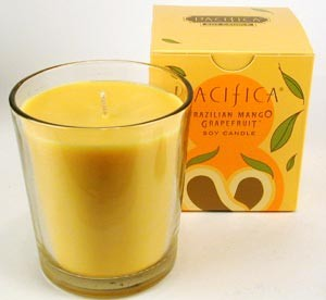 Pacifica Brazilian Mango Grapefruit 10.5oz Candle
