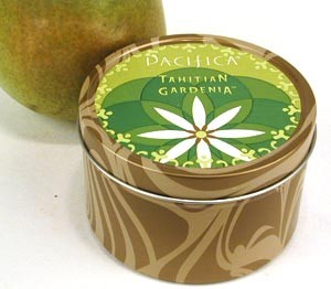 Pacifica Tahitian Gardenia Travel Candle
